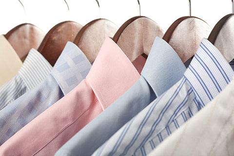 Dry Clean Shirts at Clean Getaway